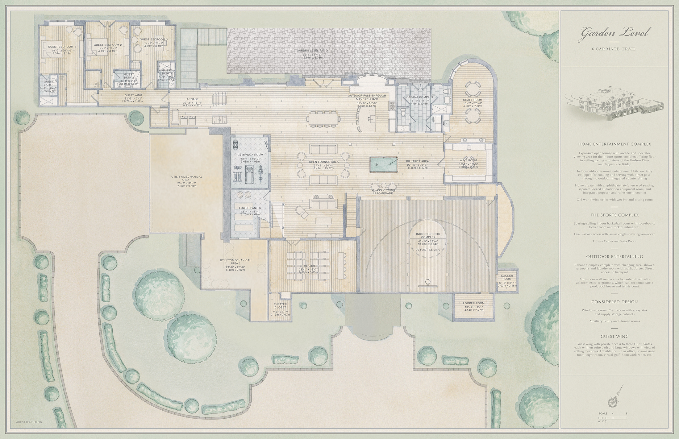 Greystone on hudson luxury for sale estate homes in for New york house plans